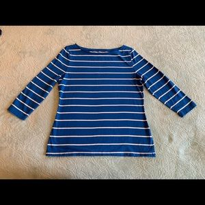 Women's long sleeve striped shirt